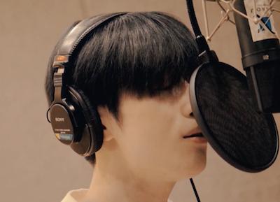 X1 デビューアルバムの録音、スンウが歌うシーンを公開!