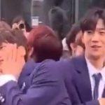 X1 メンバー、ジュノとヨハンの初々しい姿【動画】