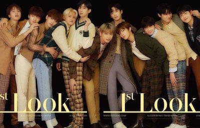 X1 『1st Look』の表紙を飾るメンバーたちが最高すぎる!これは買わねば!!