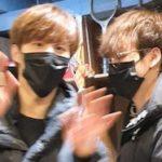 X1 ウソク、ヒョンジュン、ジュノがホンデで買い物してた目撃情報