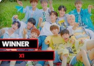 TopMusicUniverseAwardで勝利するX1♡今日はデビュー5ヶ月記念日!