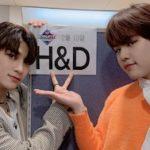 ハンギョル&ドヒョン(H&D)二人がM COWNTDOWN に出演しました。