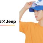 Jeep公式インスタグラムに投稿されたヨハン♡