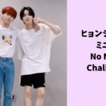 ヨハンの『No More Challenge』を投稿してくれたミニとヒョンジュン泣いたー!!!
